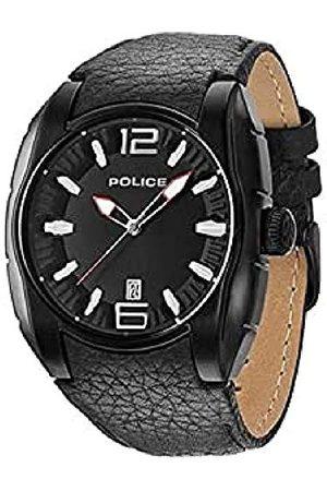 Police Męski zegarek na rękę analogowy kwarcowy skóra PL.13752JSB/02A