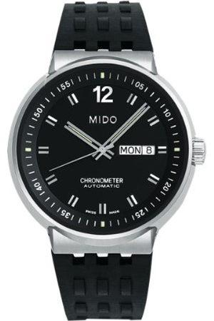 MIDO Męski automatyczny zegarek M83404C891 z gumowym paskiem