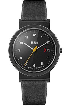 von Braun Unisex AW10EVOB analogowy zegarek kwarcowy dla dorosłych ze skórzanym paskiem