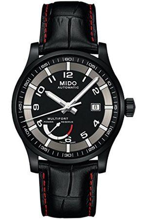 MIDO Męski analogowy automatyczny zegarek ze skórzanym paskiem M0054243605222