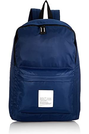 JACK & JONES Męski plecak Jacliam Backpack plecak, rozmiar uniwersalny, - piwonia granatowy - jeden rozmiar