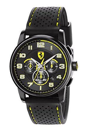 FERRARI STORE Męski zegarek na rękę XL analogowy kwarcowy silikon 830061
