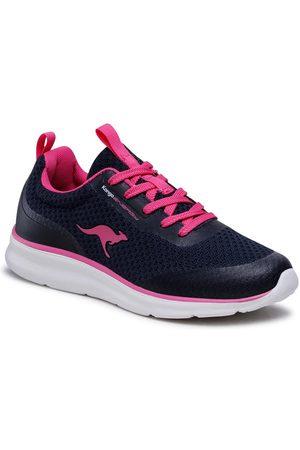 KangaROOS Sneakersy Kj-Dyna 39200 000 4294 Granatowy