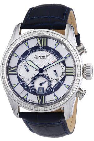 INGERSOLL 1892 Męski automatyczny zegarek IN3213BL ze skórzanym paskiem