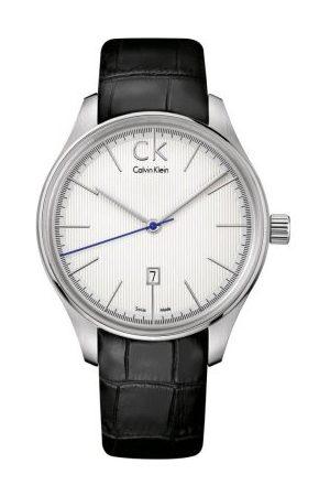Calvin Klein Męski zegarek na rękę XL grawitacja analogowy skóra K9811138
