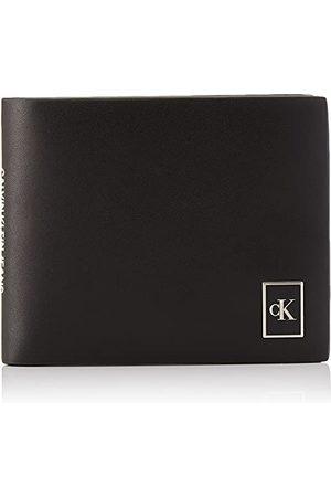 Calvin Klein Calvin Klein - portfel męski - portfel na karty - etui na karty kredytowe - cienki portfel - męski monogram CKJ akcesorium - CK - jeden rozmiar