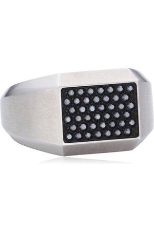 Swarovski Mężczyzna Pierścionki - 118083 męski pierścionek ze stali nierdzewnej e Stal nierdzewna, T, colore: 0, cod. 1180836