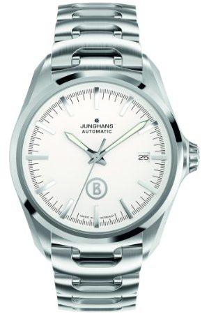 Junghans Męski zegarek na rękę XL Bogner Willy Automatic analogowy automatyczny stal szlachetna 027/4282.44