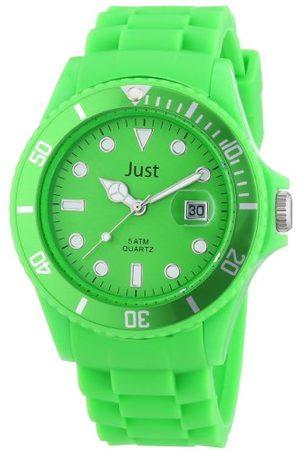 Just Watches Unisex zegarek na rękę rubber strap collection analogowy kwarcowy silikon 48-S5457-GR
