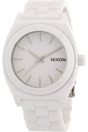 Nixon Męski zegarek na rękę XL The Ceramic Time talerz analogowy kwarcowy ceramika A250100-00