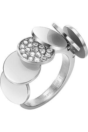 Pierre Cardin Męskie pierścienie z cyrkonią ze stali nierdzewnej