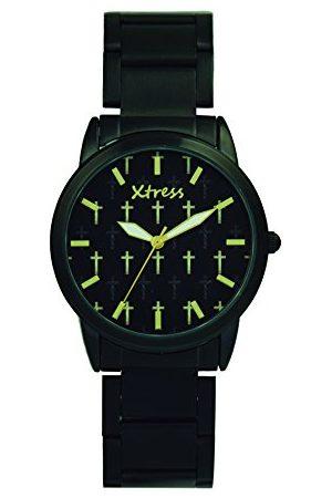 XTRESS Męski analogowy zegarek kwarcowy z bransoletką ze stali szlachetnej XNA1037-01