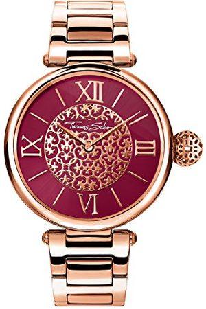 Thomas Sabo Unisex zegarek dla dorosłych analogowy kwarcowy stal szlachetna WA0306-265-212-38