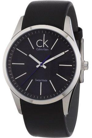 Calvin Klein Męski zegarek na rękę Bold Leather K2241161