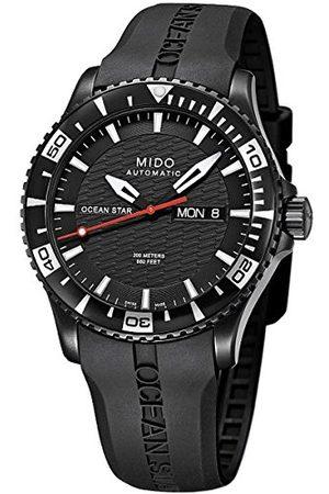 MIDO Męski zegarek na rękę XL Ocean Star analogowy automatyczny kauczuk M0114303705122