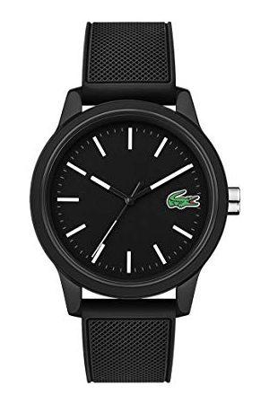 Lacoste Męski analogowy klasyczny zegarek kwarcowy z paskiem silikonowym 2010986