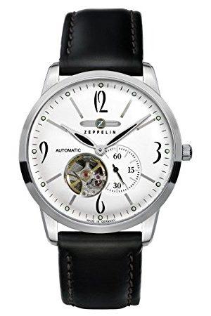 Zeppelin Męski zegarek na rękę XL Flatline automatyczny analogowy skóra 73601