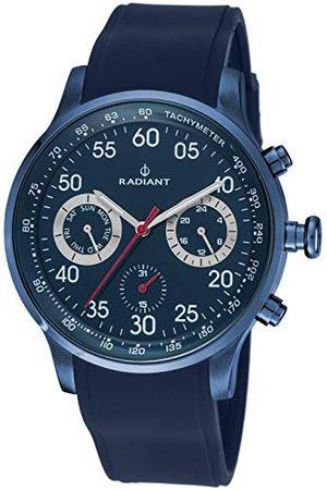 Radiant Męski chronograf kwarcowy zegarek z gumową bransoletką RA44603