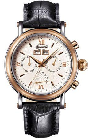INGERSOLL 1892 Męski zegarek automatyczny CILA IN4502RWH ze skórzanym paskiem