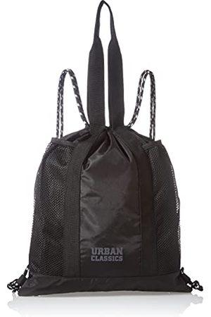 Urban classics Unisex Recycled Ripstop wielofunkcyjna torba gimnastyczna, czarna, jeden rozmiar