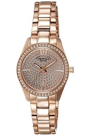Kenneth Cole Damski analogowy zegarek kwarcowy z bransoletką ze stali szlachetnej IKC0005_BRILLANTE
