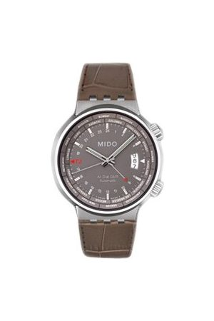 MIDO Mężczyzna Zegarki - Męski zegarek automatyczny M83504185 ze skórzanym paskiem
