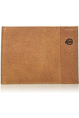 Piquadro Pu257p15s portfel na monety, Marrone (Cuoio Tabacco) - PU257P15S/CU