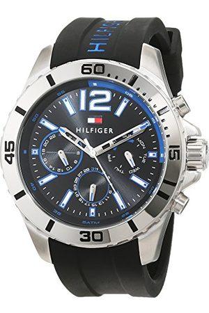 Tommy Hilfiger Męski zegarek na rękę analogowy kwarcowy silikon 1791143
