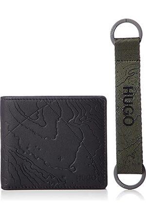 HUGO BOSS GBHM_4 cc key h map portfel podróżny, - (Black1) - jeden rozmiar