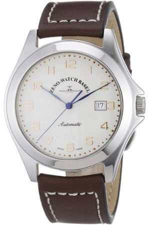 Zeno Męski zegarek na rękę XL Ghandi analogowy automatyczny skóra 8112-f2