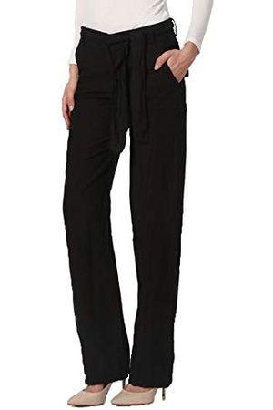 Bonamaison Damskie spodnie TRLSC100950 na co dzień, czarne, L