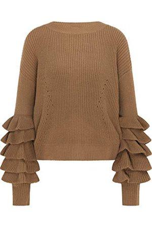 IZIA Damski 190027_Braun_M_19011414 sweter, M