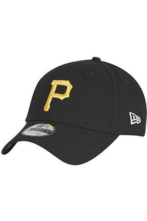 New Era Męska The League Pittsburgh Piirates Offical Team Colour Baseball Cap, czarna (Black), rozmiar uniwersalny