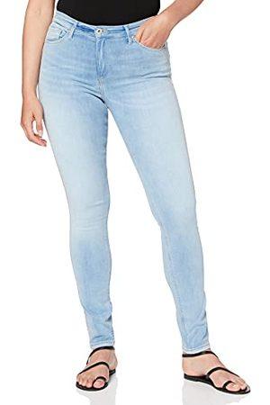 Cross Damskie dżinsy skinny, (Light Blue Shiny 107), 29W x 34L