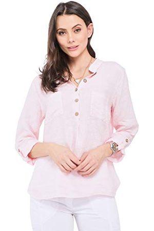 Bonamaison Damska bluzka TRLSC101032, różowa, S