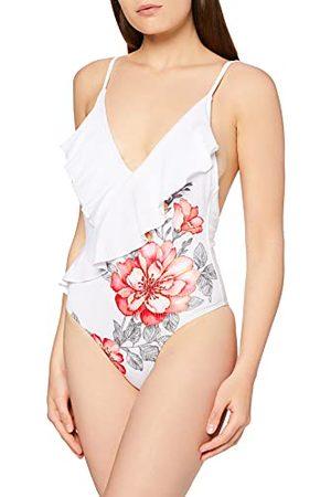 Mapalé Damski strój kąpielowy z nadrukiem kwiatowym jednoczęściowy