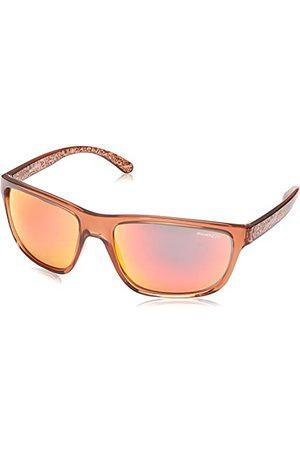 Arnette Męskie 0AN4234 24756Q 61 okulary przeciwsłoneczne, czerwone (Light Bordeaux/Fireiridium)
