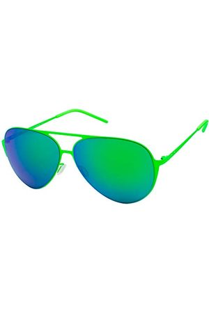 Italia Independent Unisex dla dorosłych 0200-033-000 okulary przeciwsłoneczne, zielone (Verde), 59.0