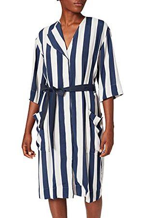 Libertine Libertine Damska sukienka kimono w paski