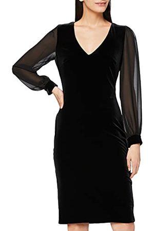 Gina Bacconi Damska sukienka koktajlowa z aksamitną sukienką z szyfonu