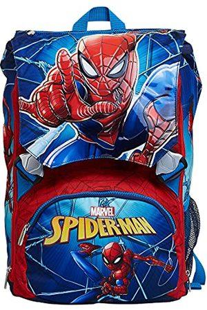 Seven for all Mankind Unisex dziecięcy Zaino Estensibile Spider Man rozszerzalny plecak, Blu, Taglia Unica