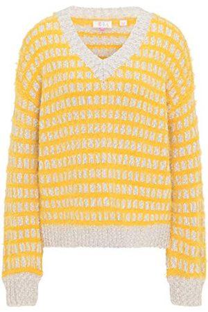 IZIA Damski 190031_żółty_M_19011207 sweter, M