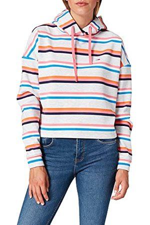 Tommy Hilfiger Damska bluza z kapturem Tjw Bxy Crop Multi Stripe