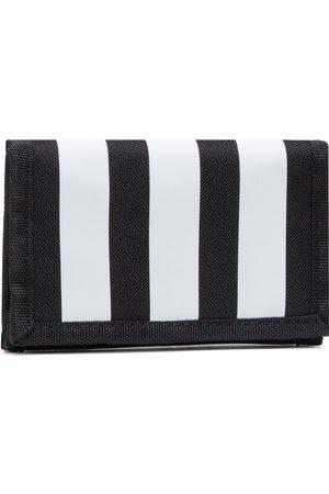 adidas Mężczyzna Portmonetki i Portfele - Duży Portfel Męski - 3S Wallet GN2037 Black/Black/White