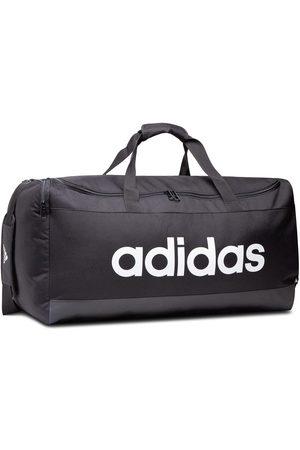 adidas Torby sportowe - Torba - Linear Duffel L GN2044 Black/White