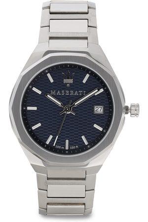 Maserati Mężczyzna Zegarki - Zegarek - Stile R8853142006 Silver/Navy