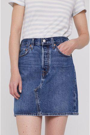 Levi's Kobieta Z wysokim stanem - Spódnica jeansowa