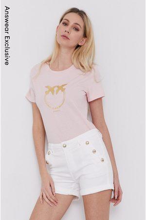 Pinko Kobieta Z krótkim rękawem - T-shirt