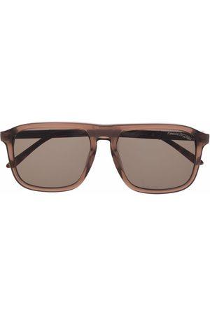 Alexander McQueen Eyewear Mężczyzna Okulary przeciwsłoneczne - Brown