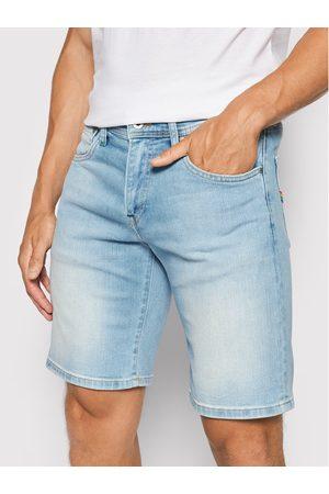 Pepe Jeans Szorty jeansowe Cane Pride PM800795 Slim Fit